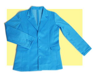 学生服向けテーラードジャケットの型紙